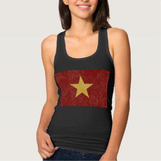 De Tanktop van de Vlag van Vietnam