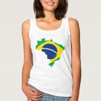 De Tanktop van het Land van Brazilië en van de