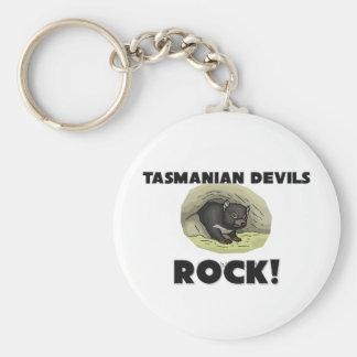 De Tasmaanse Duivels schommelen Sleutelhanger