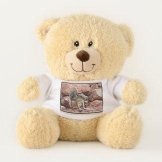 De Teddybeer van de Eekhoorn van de Grond van