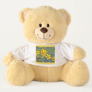 De Teddybeer van de Impressionist van Wildflower