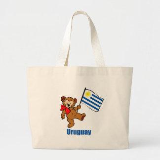 De Teddybeer van Uruguay Grote Draagtas