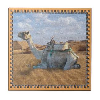 De Tegel van de kameel Tegeltje