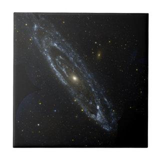 De Tegel van de Melkweg van Andromeda Tegeltje