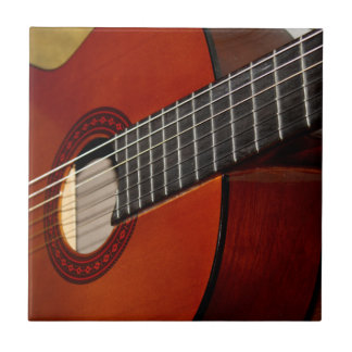 De Tegel van de Muziek van de gitaar Keramisch Tegeltje