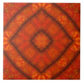 De Tegel van diamant-Mandala van de Tegeltje