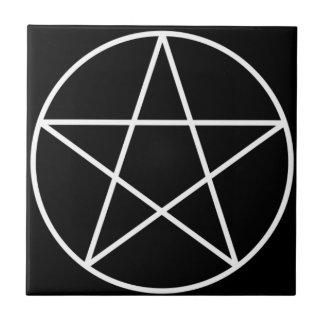 De Tegel van het Altaar van Pentagram Tegeltje