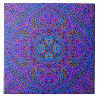 De Tegel van Mandala van de Indisch-Stijl Tegeltje