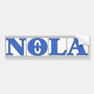 De Tegels Fleur van NOLA Bumpersticker