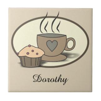 De Tegels van de Douane van de koffie en van de Keramisch Tegeltje