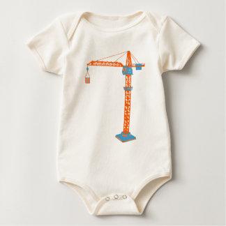 De Tekening van de Kraan van het Speelgoed van het Baby Shirt