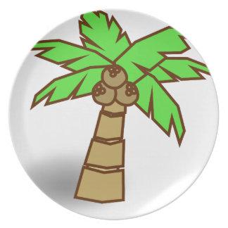 De Tekening van de palm Bord