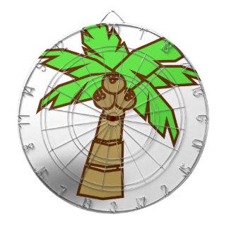 De Tekening van de palm Dartbord