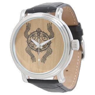 De Tekening van de schildpad Horloge