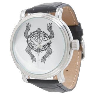 De Tekening van de schildpad Polshorloge