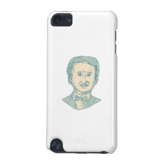 De Tekening van de Schrijver van Edgar Allan Poe iPod Touch 5G Hoesje