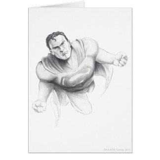 De Tekening van de superman Kaart