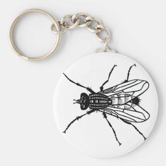 De tekening van de vlieg - insect, ongedierte, sleutelhanger