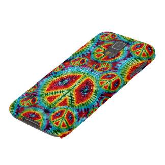 De Tekens van de Vrede van de Kleurstof van het Galaxy S5 Hoesje