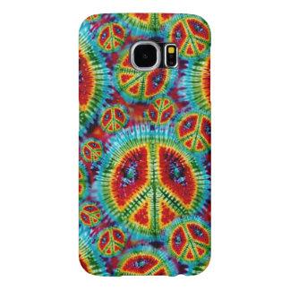 De Tekens van de Vrede van de Kleurstof van het Samsung Galaxy S6 Hoesje