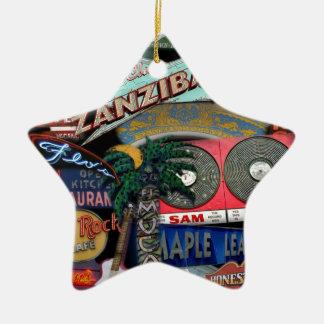 De Tekens van Toronto Keramisch Ster Ornament