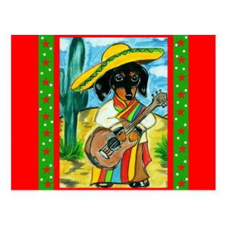 De Tekkel van Cinco DE Mayo Briefkaart