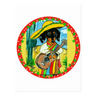 DE TEKKEL VAN MEXICO BRIEFKAART