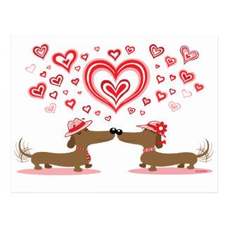 De Tekkels van Valentijn Briefkaart