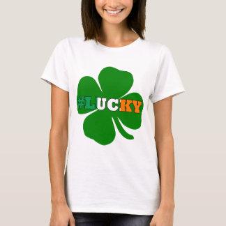 De tekst Ierse St Patricks van Hashtag feck T Shirt