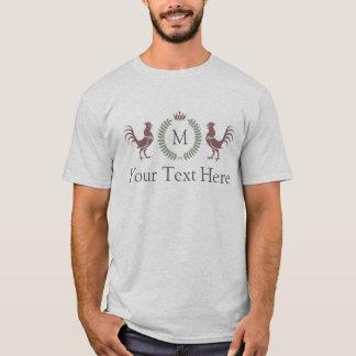 De Tekst van de douane en het Aanvankelijke T Shirt