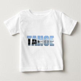 De Tekst van Tahoe van het meer Baby T Shirts