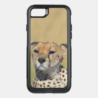De telefoon van de jachtluipaard OtterBox commuter iPhone 7 hoesje