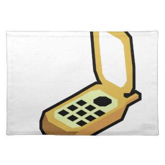 De Telefoon van de tik Placemat