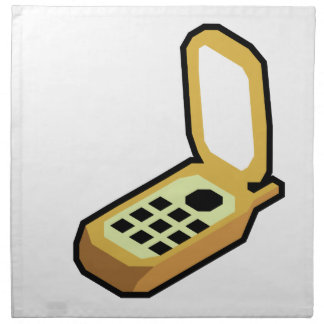 De Telefoon van de tik Servet