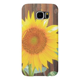 De telefoonhoesje van de Bloei van de zonnebloem Samsung Galaxy S6 Hoesje