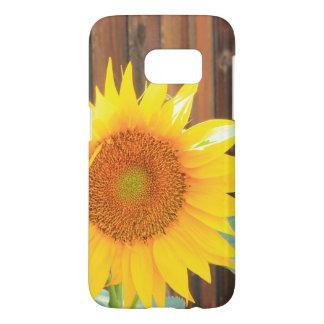 De telefoonhoesje van de Bloei van de zonnebloem Samsung Galaxy S7 Hoesje