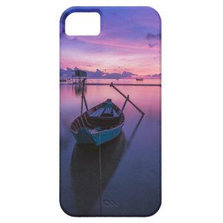 De telefoonhoesje van de Boot van de zonsondergang Barely There iPhone 5 Hoesje
