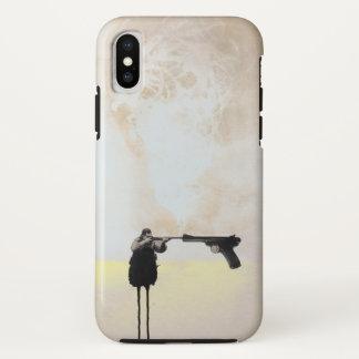 De telefoonhoesje van de Controle van het pistool iPhone X Hoesje