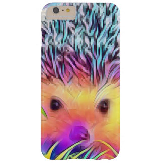 De telefoonhoesje van de Egel van de regenboog Barely There iPhone 6 Plus Hoesje