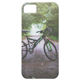 De telefoonhoesje van de Fiets van de berg Barely There iPhone 5 Hoesje