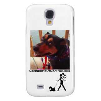 De telefoonhoesje van de Hoektanden van Connecticu Galaxy S4 Hoesje