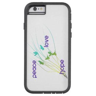 De telefoonhoesje van de Hoop van de Liefde van de Tough Xtreme iPhone 6 Hoesje