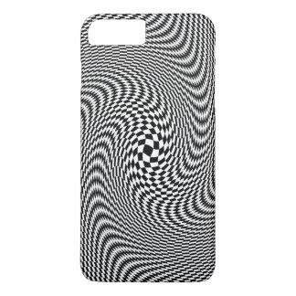 De telefoonhoesje van de illusie (iedereen iPhone 8/7 plus hoesje