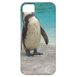 De telefoonhoesje van de pinguïn barely there iPhone 5 hoesje