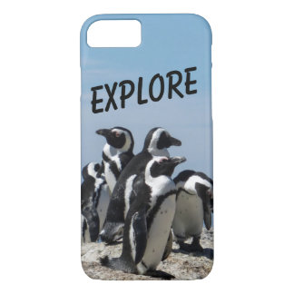 De telefoonhoesje van de pinguïn iPhone 8/7 hoesje