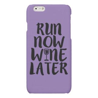De telefoonhoesje van de Wijn van de looppas nu Matte iPhone 6 Hoesje