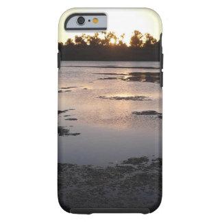 De telefoonhoesje van de zonsopgang tough iPhone 6 hoesje