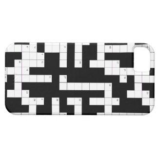 De telefoonhoesje van het kruiswoordraadsel - vul  barely there iPhone 5 hoesje