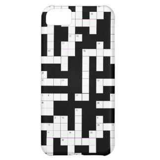 De telefoonhoesje van het kruiswoordraadsel - vul  iPhone 5C hoesje
