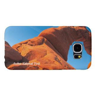 De telefoonhoesje van het Park van bogen Nationaal Samsung Galaxy S6 Hoesje